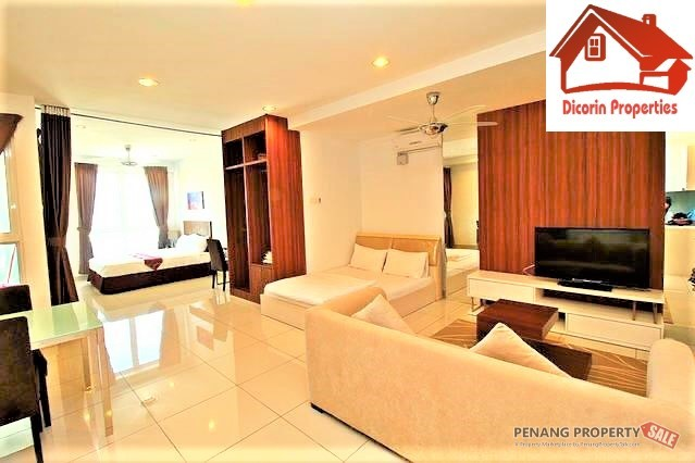 Mansion One,  Studio unit, Renovated and Fully Furnished