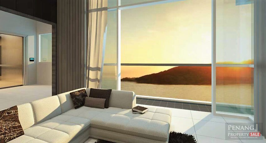 Penang Island, Queensbay, QuayWest Residence, Luxury Waterfront Serviced Apartment (1,423sf)
