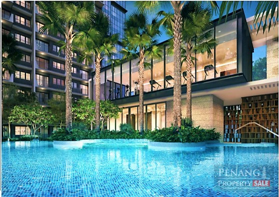 Best Integrated New Waterfront Condo at The Light City, Gelugor.  (1,292sf)