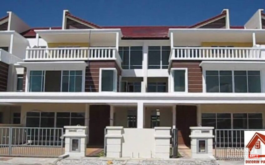 3 storey superlink house @ Tg Tokong,  7 rooms, For rent