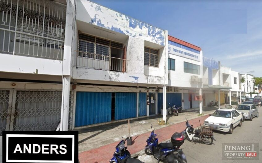 Double Storey Shop Lot @ Ayer Itam For Rent