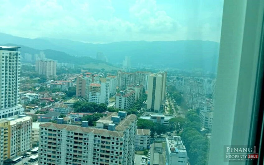 Straits Garden Suite RENOVATED Jelutong town view 593SF